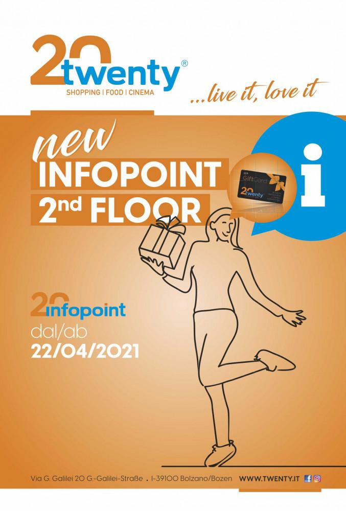 Angebot NEW Infopoint Twenty - Giftard: 2nd floor   bei Twenty - Einkaufszentrum