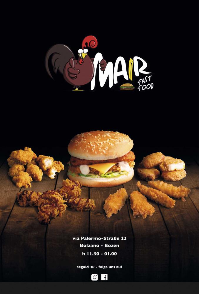 Offerte Nuggets, chicken pop corn, patatine fritte, burger...! Vieni a trovarci qui da Mair Fastfood di Mair Fast Food