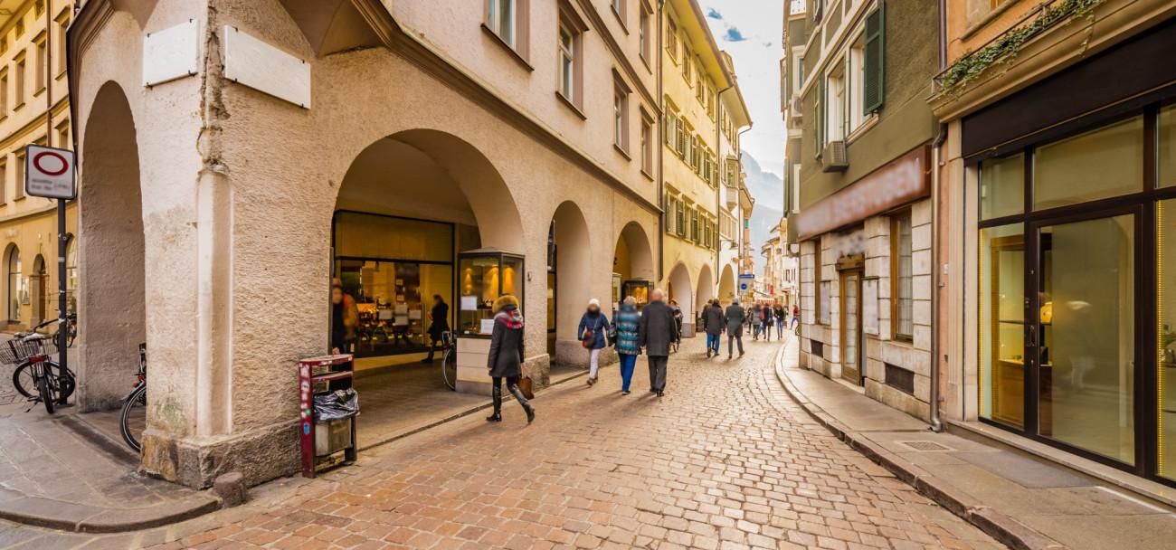 Shopping in Bozen
