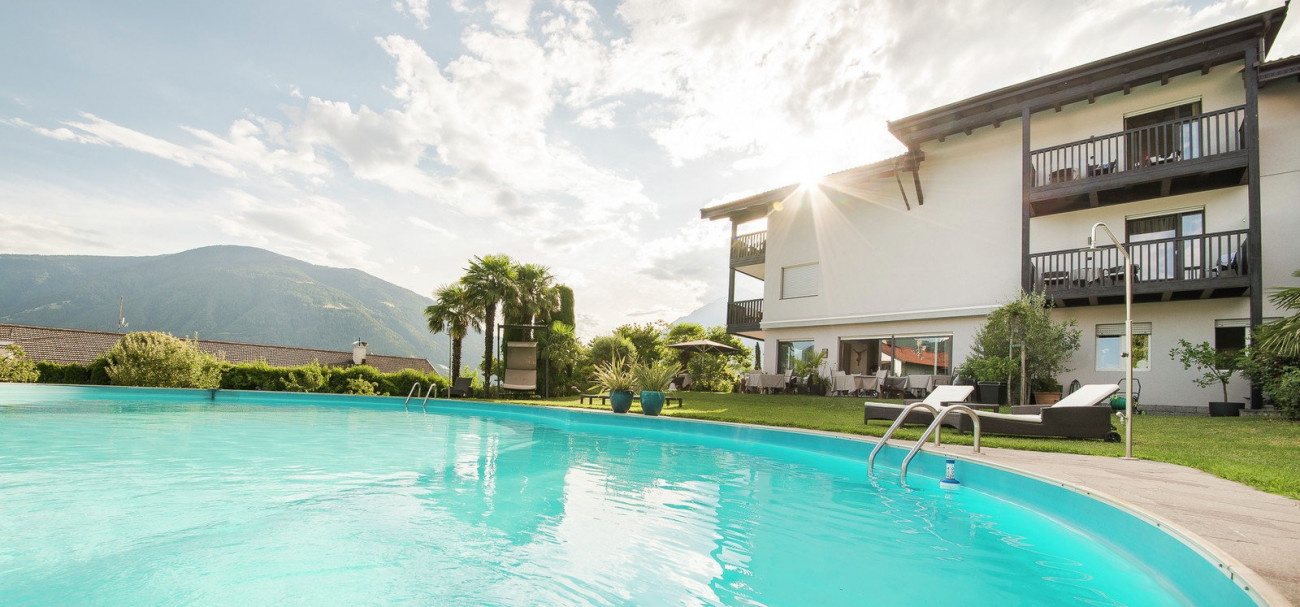 Pensionen mit Pool in Südtirol