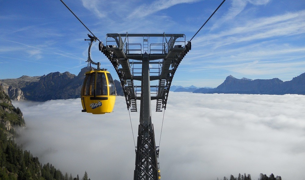 Alle Seilbahnen in Südtirol